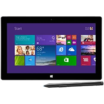 Microsoft Surface Pro2 26,9 cm (10,6 Zoll) Tablet-PC (Intel Core-i5 4200U, 1,6GHz, 8GB RAM, 256GB SSD, Win 8, Touchscreen) schwarz