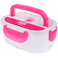 Preisvergleich für MagiDeal Elektrische Heizbox Lunch Box Heizung Lunch-Box, Brotdose Kostwärmer Unabhängiger Abnehmbarer