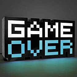 Paladone Products Game Over Light 8-bit 30 cm Other Lamps Lights