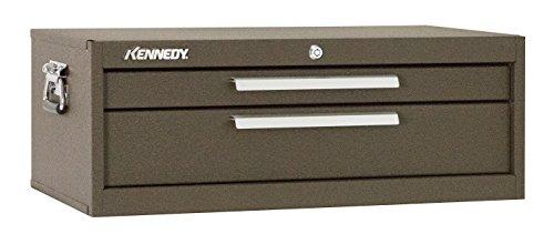 Kennedy Verarbeitung 5150b 26-3/10,2cm Mittelschneider Brust, 2Schubladen, Braun (Organizer Husky-tool-box)
