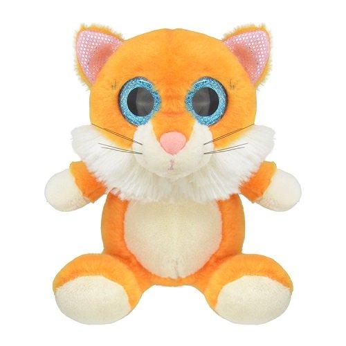 Wild Planet K7845 - Kuscheltier Katze, 15 cm (Katze Wild Kuscheltier)