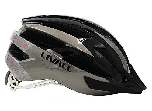 Livall MT1 Fahrradhelm Rot / Schwarz - MTB Helm thumbnail