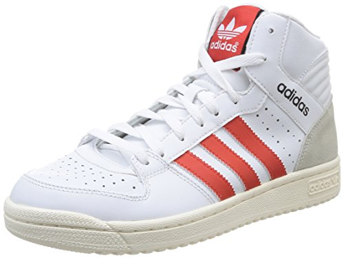 adidas Originals Pro Play 2.0, Herren Basketballschuhe, Weiß (Ftwr White/Red/Core Black), 42 2/3 EU (8.5 Herren UK)