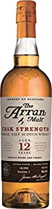 Arran 12 Year Old Cask Strength Whisky, 70 cl by ARRAN