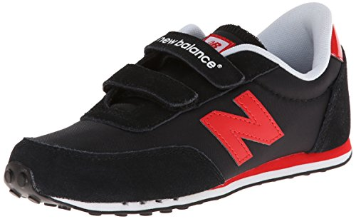 New Balance KE410 - Zapatillas unisex niños, Negro (KRI BLACK/RED), 33
