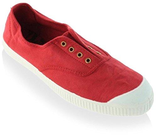 Victoria-Inglesa-Elastico-Tenido-Punt-Zapatillas-de-deporte-de-tela-para-mujer