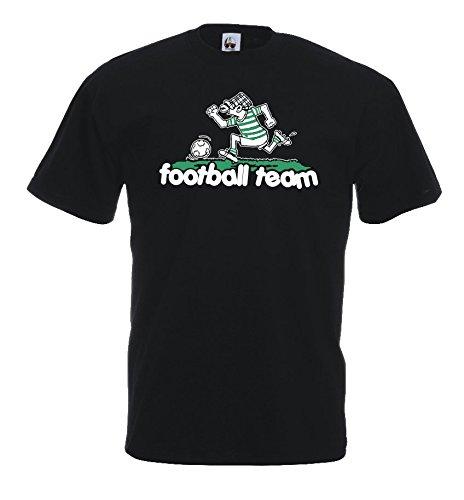 Settantallora - T-Shirt Maglietta U13_J Football Team Taglia M