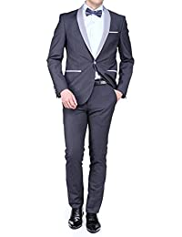 Leader Mode - Costume Nf132455 Smoking Chale Charcoal