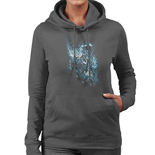 Triforce Awaken Legend Of Zelda Women's Hooded Sweatshirt Anthracite