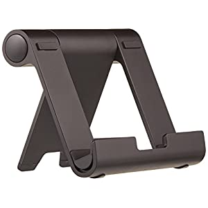 AmazonBasics Multi-Angle Portable Stand for Tablets, E-readers and Phones