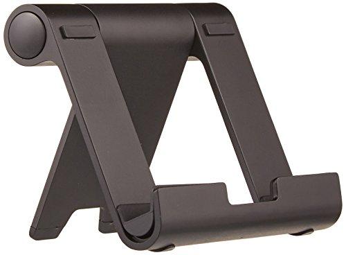 AmazonBasics Tragbarer Ständer mit verstellbarem Betrachtungswinkel für Tablets, E-Reader und Handys - Schwarz - S3, 7-zoll-galaxy Tablet Tasche