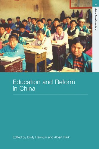 Education and Reform in China (Routledge Studies in Asia's Transformations)