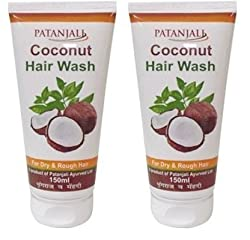 Patanjali Coconut Hair Wash, 150ml (Pack of 2)