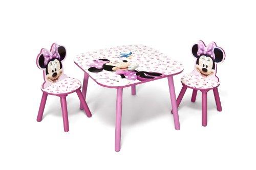 db6a077913 Disney - Set Tavolo con 2 sedie per bambini Minnie Mouse
