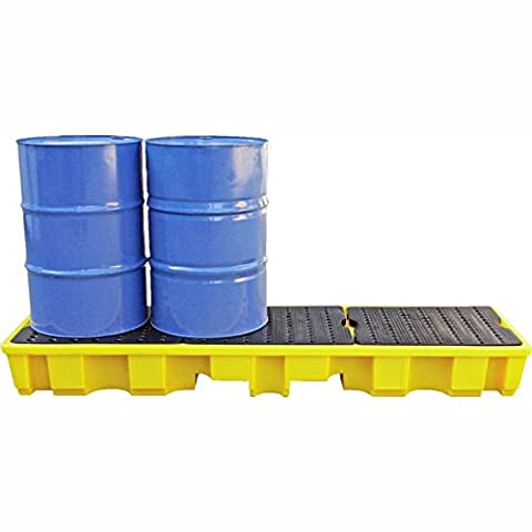 4 Drum Spill Pallet 235 Litres Sump Capacity