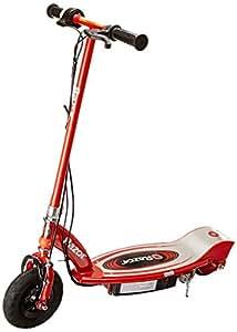 Razor E100 - Monopattino Elettrico, Rosso (Red)
