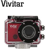 1080p WiFi enabled Compact HD Action Cam Camcorder Camera for Extreme Sports - Waterproof Case Included up to 3 Metres Vivitar DVR794HD 12 Megapixels (Red)
