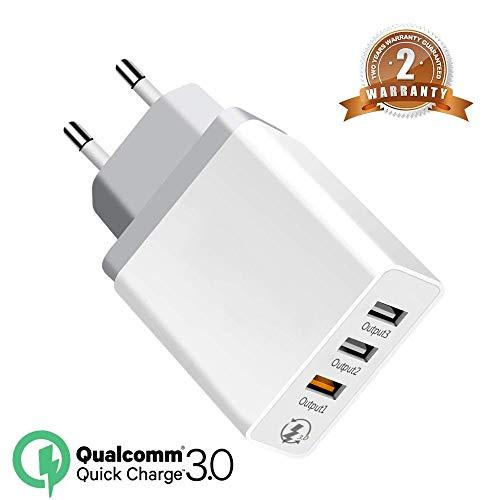 Quick Charge 30W Cargador 3.0 Cargador Viaje Enchufe