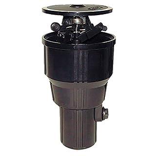 Aqua Control C1603-Ausfahrbarer Rasensprenger, schwarz