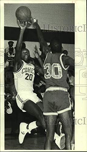 Vintage Photos 1985 Presse Photo Carver and Cohen Play Boys High School Basketball - Nos17892