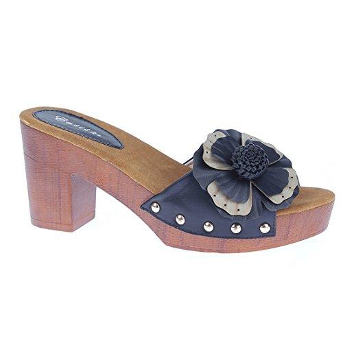 CATISA-SD4_FD260-Sandale-Femme Noir