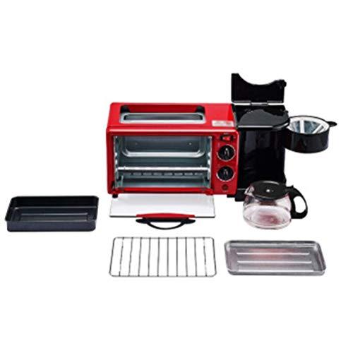 QPSGB Ofen-Toaster-Multifunktionsfrühstück Elektromechanischer Ofen-Kaffee Elektromechanische Backformen-Toaster-elektrischer Ofen-Studentenfrühstück - Backöfen (Ofen-backformen Toaster)