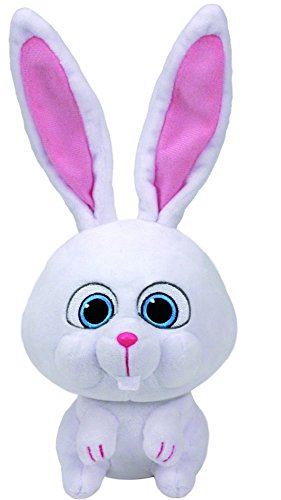 Carletto Ty 96295 - Pets Snowball, Hase, 25 cm (Pet-spielzeug-plüschtiere)