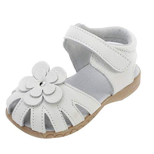 Mädchen Sommer Sandale mit weichen Sohlen Baby Leder Lauflernschuhe