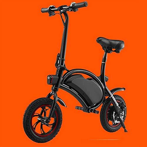 Rapid-Fold Scooter Elettrico, Display A LED, Impostazione APP, Protezione Impermeabile IP 54, Freni A Disco Meccanico Bicicletta Elettrica