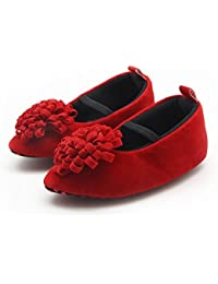 f1137db3542a1 FemmeStopper Baby Shoes Flower Born Infant Baby Girls Shoes Princess Red Baby  Girl Shoes