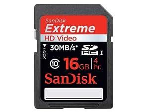 Sandisk Extreme SDHC-Speicherkarte, 30 MB/s, 16 GB, 2 Stk. (SDSDX2-016G-X46)