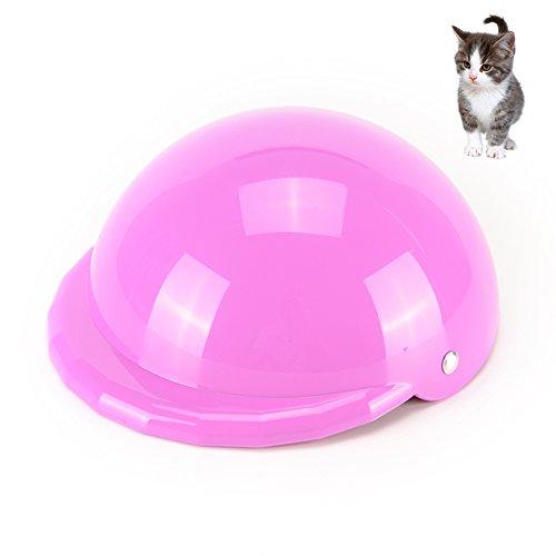 t Hard Hat Deko Hund Helme Hat Creative Katze Helme Gap tragbar Pet Sicherheit Helme, Violett, L (Der Hund Helm)