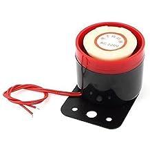2 Cableada Plomo Continuo Sonido Electrónica Zumbador De Alarma AC 220V 100dB