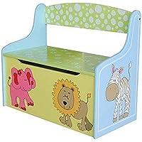 Preisvergleich für Farbige Spielzeugkiste Truhenbank Lion