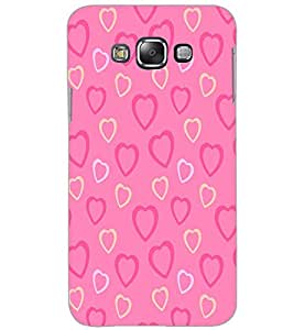 SAMSUNG GALAXY GRAND MAX HEART PATTERN Back Cover by PRINTSWAG