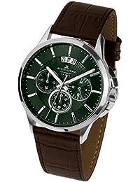 8ea645a5516a Jacques Lemans Reloj Cronógrafo para Hombre de Cuarzo con Correa en Cuero 1 -1542O