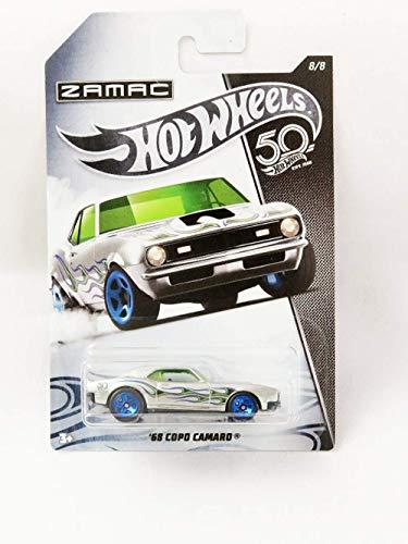 Hot Wheels 50th Aniversario Zamac FRN31 - Chevy Camaro Copo Ž68 8/8
