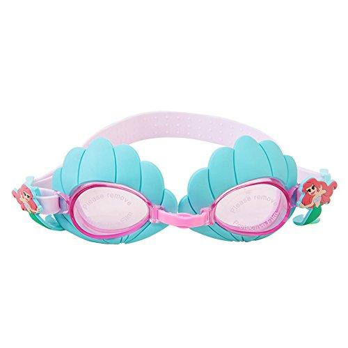 Qxxnb occhialini da nuoto, occhiali da nuoto impermeabili per bambini disney, attrezzatura da nuoto per bambini, maschere da nuoto anti-appannamento