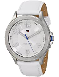 Tommy Hilfiger Damen 1781399 Analog Display Quartz White Armbanduhr