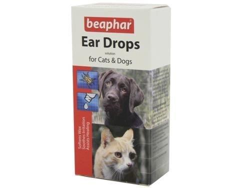 (2 Pack) Beaphar - Ear Drops 15ml 1