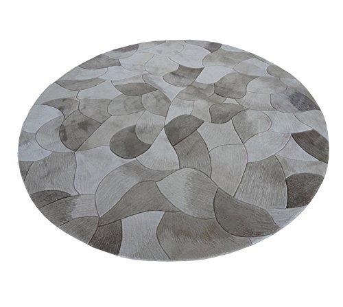 Preisvergleich Produktbild Q Farbverlauf Runde Teppich / Teppiche / Matten für Schlafzimmer Bett Kinderzimmer, Acryl Teppiche / Matten ( größe : 100cm )