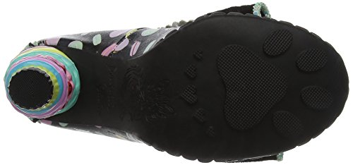 Irregular Choice Little Kisses, Escarpins Femme Noir (noir)