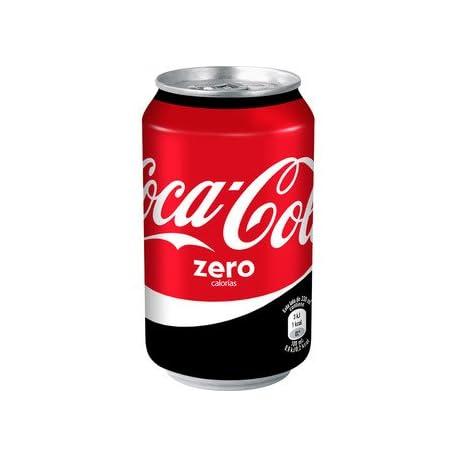 COCA COLA Refrescos Coca cola Zero Lata 33 cl 2621