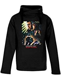 Top Fashion Quality Clothing Adult Blade Runner Heavyweight Hooded Sweatshirt