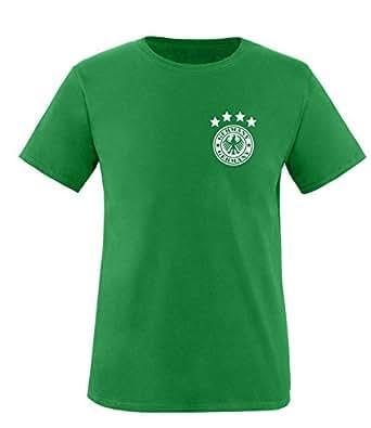 Luckja EM 2016 Deutschland Trikot Wunschname und Wunschnummer Motiv 14 Kinder T-Shirt