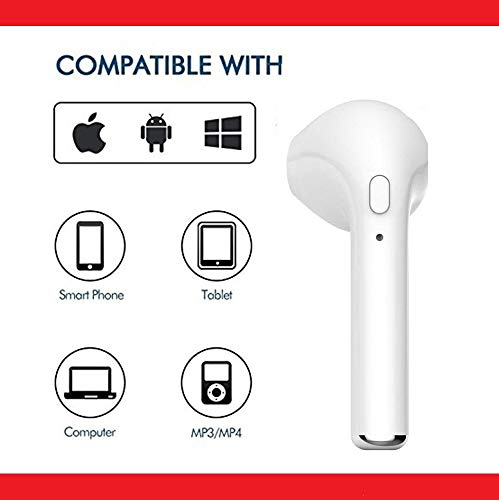 CEUTA, HBQ-i7 in-Ear (Single) Wireless Bluetooth Music Earphone Bluetooth V4. 1 + EDR for iOS & Android | Smartphones