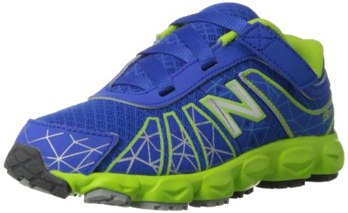 New Balance KV890 Hook and Loop Running Shoe (Infant/Toddler) Blue/Green