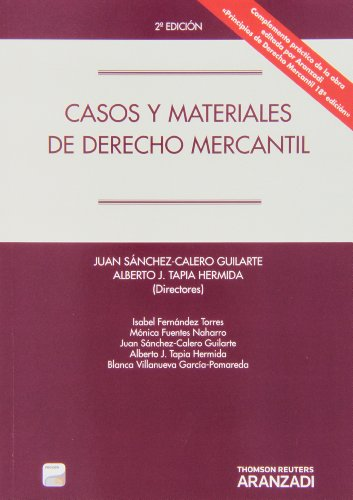 Casos y Materiales de Derecho Mercantil (Papel + e-book) (Manuales)