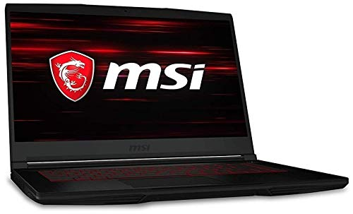 MSI GF63 8RC i7 15.6 inch HDD+SSD Black