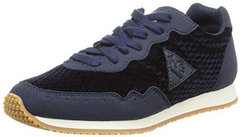 le-coq-sportif-milos-vintage-zapatillas-de-deporte-de-lona-para-mujer-azul-bleu-dress-blue-36